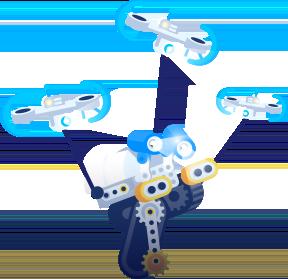 Skriware droner